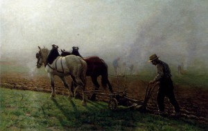 Maroniez Georges Philibert Charles_The Ploughman